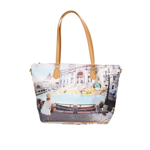 Ynot?  Shopping Bag Yes-396s1 Rome Trevi