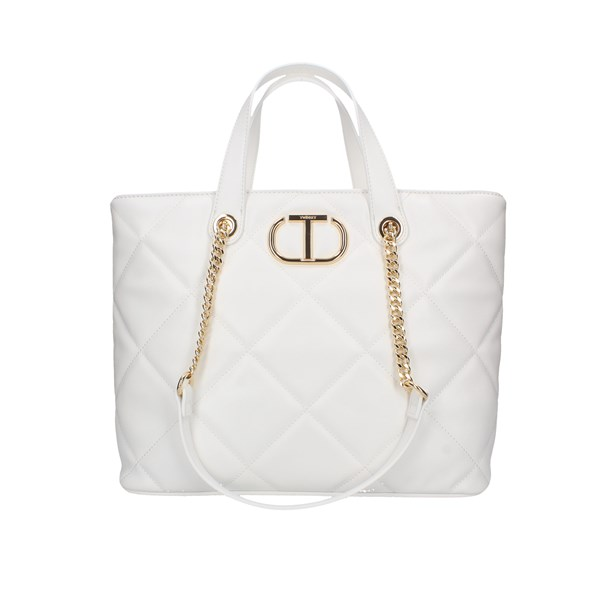 Twinset Shopping bags White