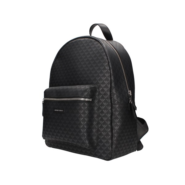 Emporio Armani Backpacks Black