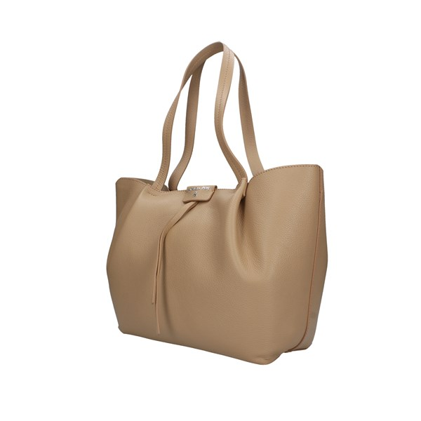 Patrizia Pepe Shopping Bag Beige