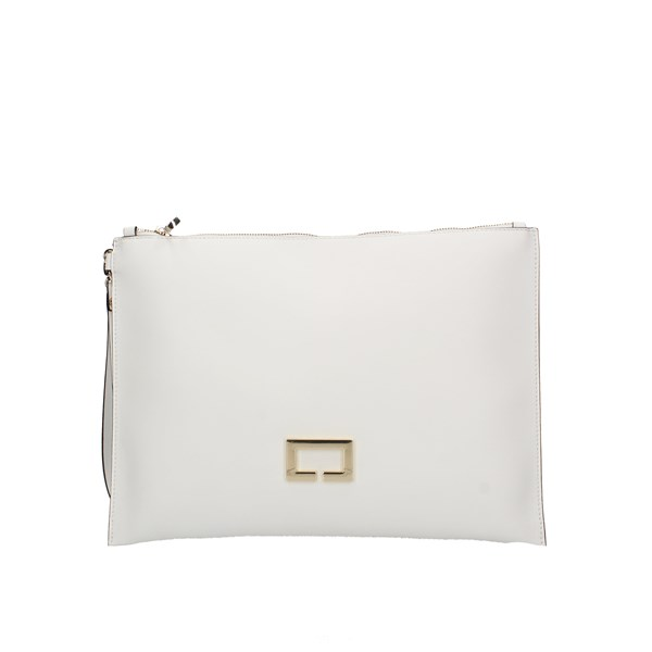 Loristella Evening Clutch Bag White
