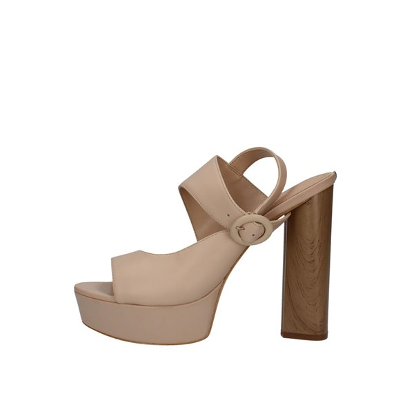 Guess Heeled Shoes With Plateau Woman Flmkn2lea03 0