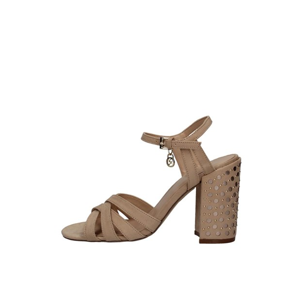 Gattinoni Sandals With heel Pened0639wml530 Beige / light Gold