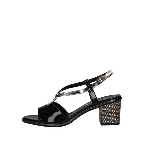 Le Mer With heel Black